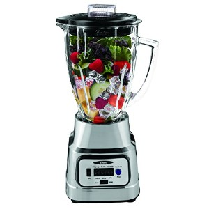 Oster Pureブレンド300Blender with Glass Jar–ブラシニッケルby Oster