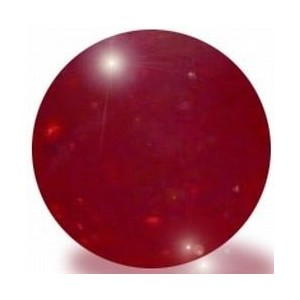 Red Glass Marbles, 100 Count Per Order, 1/2 in Diameter by Panacea Products
