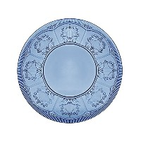 High Qualitytion, Plate, Dark Blue