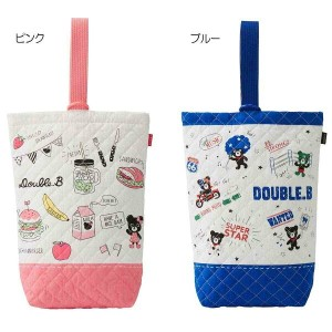☆ DoubleB(ダブルB)コミック風上履き袋(61-8202-269)