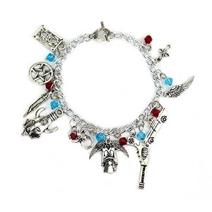 Supernatural 11ロゴチャームToggle Clasp Bracelet inギフトボックス