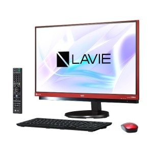 新品LAVIE Desk All-in-one DA770/HAR PC-DA770HAR [ラズベリーレッド]