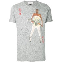 Vivienne Westwood Queen of Diamonds Tシャツ - グレー