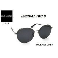 ★POLICE★ポリス★HIGHWAY TWO 6★SPL637N 0568★サングラス