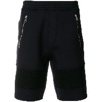 Neil Barrett double bonded sweat shorts - ブルー