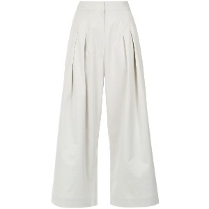 Andrea Marques pleated cropped trousers - Unavailable