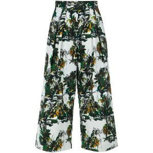 Andrea Marques front pleats cropped trousers - Unavailable