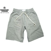 REIGNING CHAMP(レイニングチャンプ)/#5019 MIDWEIGHT TERRY SLIM SWEAT SHORT PANTS/heather grey