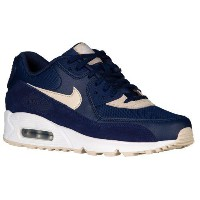 (取寄)Nike ナイキ レディース エア マックス 90 Nike Women's Air Max 90 Binary Blue Oatmeal White Metallic Silver
