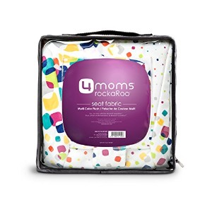4Moms Rockaroo Seat Fabric, Multi Plush by 4moms