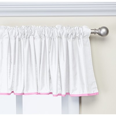 Baby Doll Bedding Forever Mine Junior Window Valance, Pink by BabyDoll Bedding