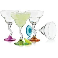 Libbey Colors Margarita Glass Set, 4-Piece by Libbey