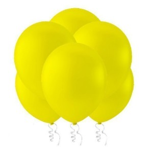 Celebrity 9 Latex Balloons (Pack of 144), Decorator Canary Yellow by Creative Balloons Mfg. Inc.