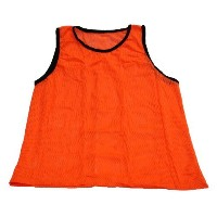 Workoutz Big and Tall Scrimmage Vest ( 1 QTY、オレンジ)サッカーPinnieトレーニングジャージー