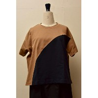 "SOFIE D'HOORE ソフィードール ""TANGERINE"" fine cotton fleece col.clay/navy"