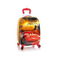 Heys Disney 18インチ多色キッズ Carry-on Spinner Luggage - Cars