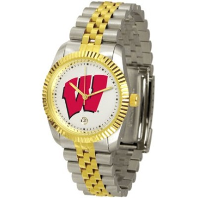 "Wisconsin Badgers "" The Executive ""メンズ腕時計"
