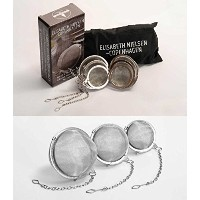 Tea Strainer Infusers For Herbal and Loose Leaf Teas | Stainless Steel Very Fine Mesh Balls| Set of...