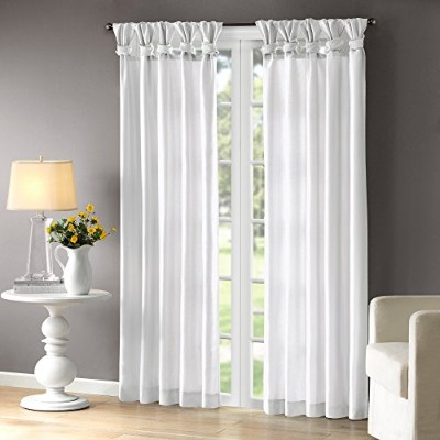 Emilia Window Curtain White 95 Panel by Madison Park