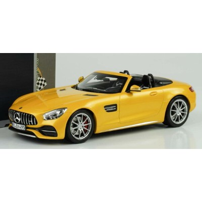 Norev 1:18 2017年モデル メルセデス GTC ロードスター メタリックイエローMERCEDES BENZ - GTC AMG ROADSTER 2017 1/18 by Norev...