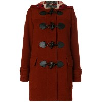 Burberry The Mersey ダッフルコート - レッド