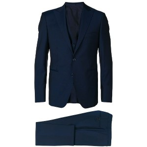 Tagliatore formal fitted suit - ブルー