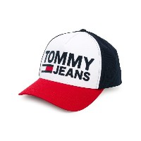 Tommy Jeans ロゴ キャップ - ホワイト