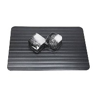New Arrival Aluminum Defrosting Tray Thaw Meat Frozen Food in Minutes without Electricity Microwave...