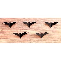 eSplanade Decorative Metal Wall Hanging BATS Set of five | Designer Lights | Art light fixtures