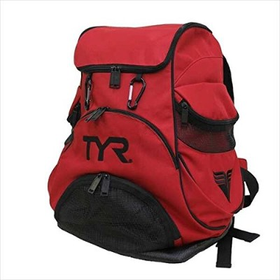 TYR(ティア) プールバッグ ALLIANCE TEAM BACKPACK LATBP-JP RD FREE