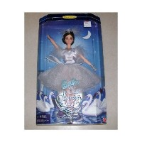 バービー African American Barbie Doll As Swan Queen in Swan Lake Ballet ドール 人形 フィギュア