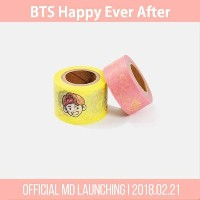 【BTS正規品】BTS HAPPY EVER AFTER 【BTS MASKING TAPE SET】  防弾少年団 マスキングテープセット デコテープ BTS 4TH MUSTER ファンミグッズ