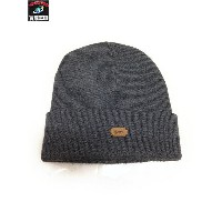Supreme 14AW Leather Patch Beanie【中古】