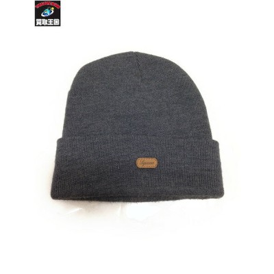 Supreme 14AW Leather Patch Beanie【中古】[値下]