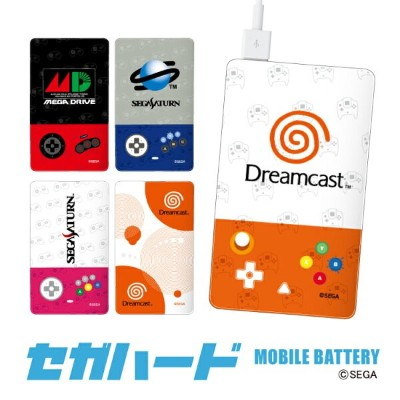 iphonex iPhone8 iPhone8Plus iPhone7 iPhone7Plus iPhone6s 6sPlus 6 セガハード モバイルバッテリー 4000mAh iPhone7...