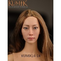 クミック 女性用ヘッド 1/6 Artcreator_BM zy-kumik female head 16-14