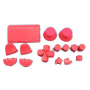 Linyuan 安定した品質 Replacement Buttons Custom Mod Kit Set for PS4 Playstation Controller