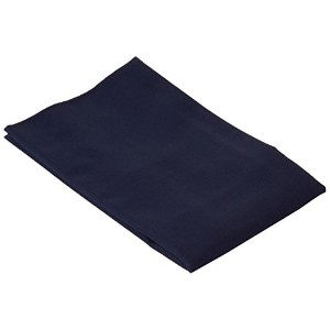 SheetWorld Comfy Travel Pillow Case - 100% Soft Cotton Percale - Navy - Made In USA by sheetworld