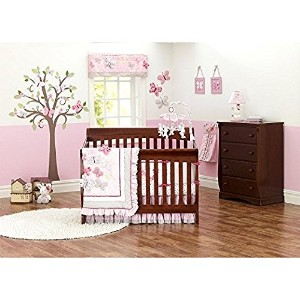 Just Born Antique Chic 7-Piece Crib Bedding Set by Just Born