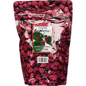 Trader Joe's Freeze dried Rasberries unsweetened & unsulfured 34g