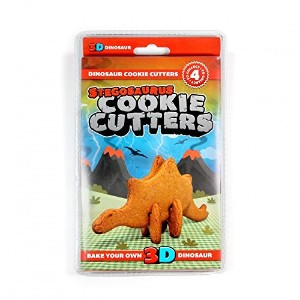 恐竜Cookie Cutters – Bake your own 3d恐竜 Stegosaurus レッド 4979909902615