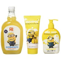 Despicable Me Soap, Shampoo, and Bubble Bath, Bundle of 3 Items by Despicable Me