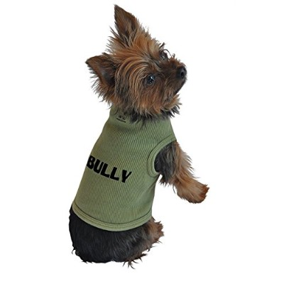 High quality Dog Tank Top, Bully, Green, Extra-Large