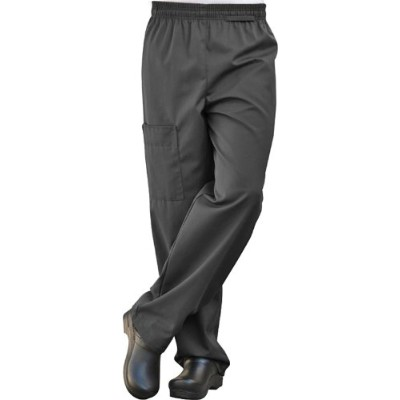 Uncommon Threads 4100-0107 Uncommon Cargo Chef Pant in Black - 3XLarge