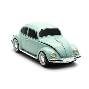 [Cassette Car Products] Classic Beetle Wireless Mouse クラシックビートル ワイヤレスマウス (ブルー)