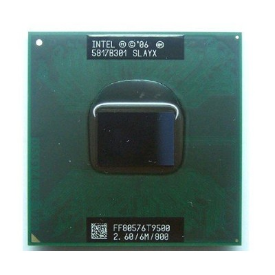 #A056☆Intel Core2 Duo Processor T9500 (6M Cache 2.60 GHz 800 MHz FSB)
