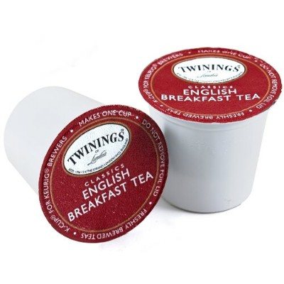 Twinings English Breakfast Tea Keurig K-Cups, 48 Count by Twinings