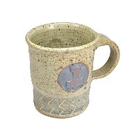 Mjolnir ThorsハンマーCoffee Mug Cup with Sowiloルーン旅行マグカップ