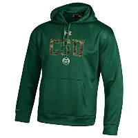 Under Armour Colorado State RamsフリースStormフード L