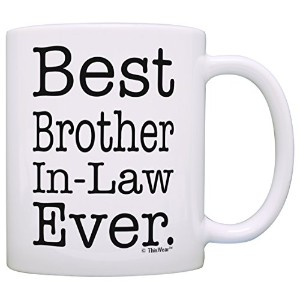 Best Brother in Law Everギフトコーヒーマグティーカップ 11オンス